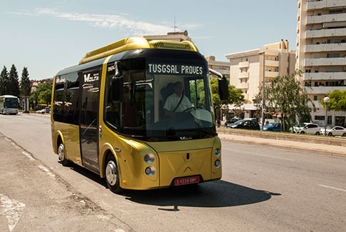 Proba bus electric